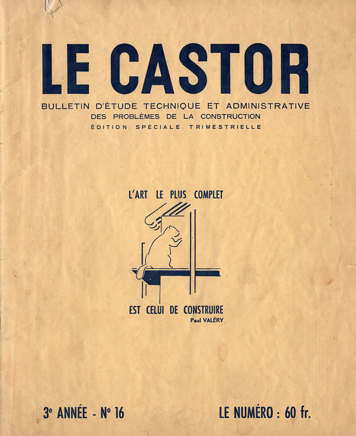 Les Castors - L'aventure associative de l'autoconstruction